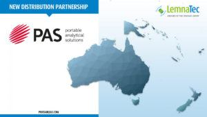 Australia Map PAS logo and LemnaTec logo