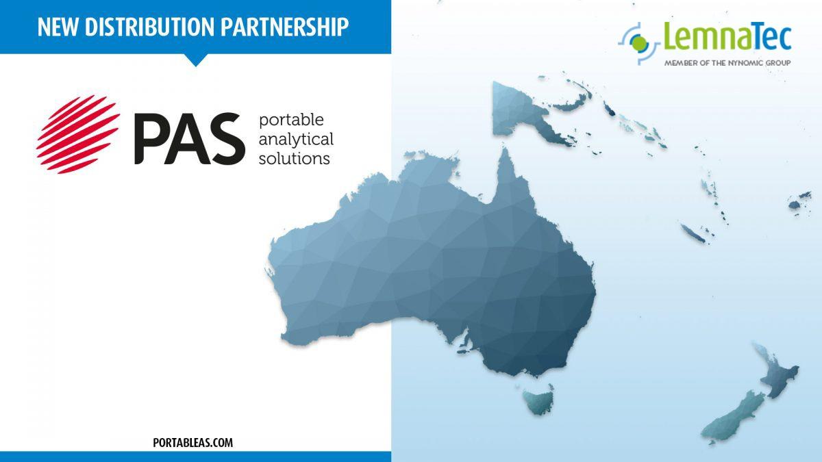 Australia Map PAS logo and LemnaTec logo