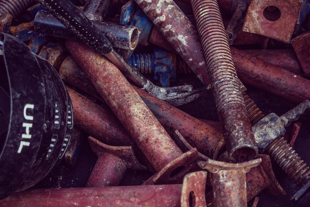 Alloy scrap metal